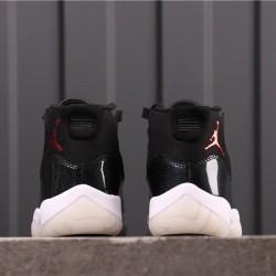 "Air Jordan 11 ""72-10"" 378037-002 Black"