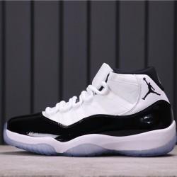 """Air Jordan 11 """"Concord"""" 378037-100 White Blue"""