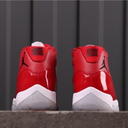 "Air Jordan 11 ""Win Like"" 96 378037-623 All Red"