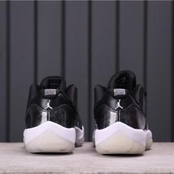 """Air Jordan 11 Low """"Barons"""" 528895-010 Black"""