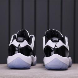 "Air Jordan 11 Low ""Concord"" 528895-153 White Black"