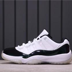 """Air Jordan 11 Low """"Easter"""" 528895-145 White Black"""