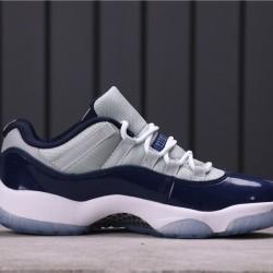 """Air Jordan 11 Low """"Georgetown"""" 528895-007 Grey Blue"""