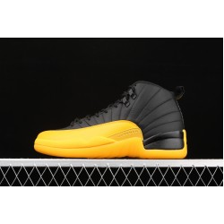 "Air Jordan 12 ""University Gold"" 130690-070 Yellow Black"