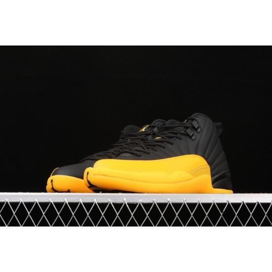 "Air Jordan 12 ""University Gold"" 130690-070 Yellow Black"