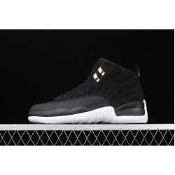 "Air Jordan 12 ""Reverse Taxi"" 130690-017 Black White"