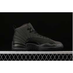 "Air Jordan 12 ""Wntr Family Pack"" BQ6851-001 All Black"