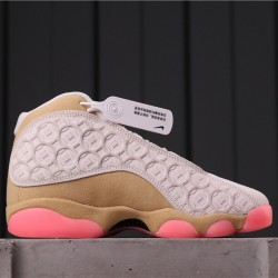"Air Jordan 13 ""CNY"" CW4409-100 Grey Orange"