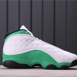 "Air Jordan 13 ""Lucky Green"" DB6537-113 White Green"
