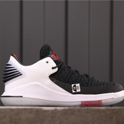 "Air Jordan 32 Low ""Free Throw Line"" AH3347-002 White Black"