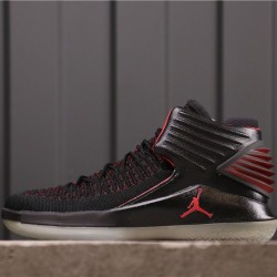 "Air Jordan 32 ""MJ Day"" AA1253-001 Black Red"