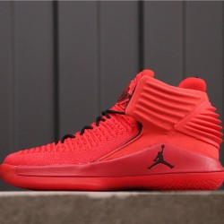 "Air Jordan 32 ""Rosso Corsa"" AH3348-601 All Red"