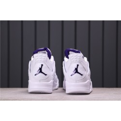 "Air Jordan 4 ""Court Purple"" T8527-115 White Purple"
