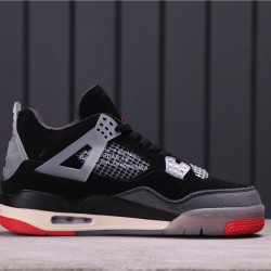 "Air Jordan 4 ""Purple Metallic"" AQ9129-060 Grey Black Red"