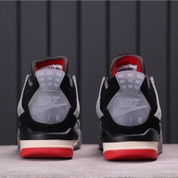 "Air Jordan 4 ""Purple Metallic"" AQ9129-060 Grey Black Red"