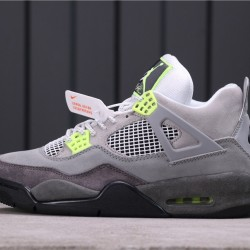"Air Jordan 4 SE ""Neon"" CT5342-007 Grey Green"