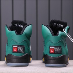"Air Jordan 5 ""Oregon Ducks"" 454803-535 Green Black"