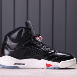 """Air Jordan 5 """"Oregon Ducks"""" CT8480-001 Black Red"""