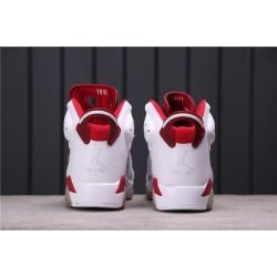 """Air Jordan 6 """"Alternate"""" 384664-113 White Red"""