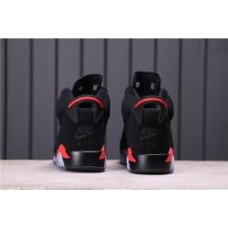 """Air Jordan 6 """"Black Infrared"""" 384664-060 Black Red"""
