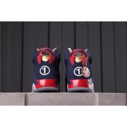 """Air Jordan 6 """"Doernbecher"""" CI6293-416 Purple Red"""