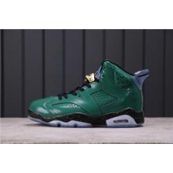 """Air Jordan 6 """"Hare"""" 384664-193 Dark Green"""