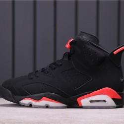 "Travis Scott x Air Jordan 6 ""Black Infrared"" 384664-060 Black Red"
