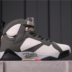 "Patta x Air Jordan 7 ""Icicle"" AT3375-100 Brown White"