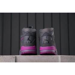 "Air Jordan Legacy 312 ""Grey Purple"" AV3922-005 Black Purple"