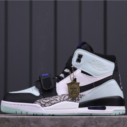 """Air Jordan Legacy 312 """"Black/White Igloo"""" AV3922-013 White Blue Black"""