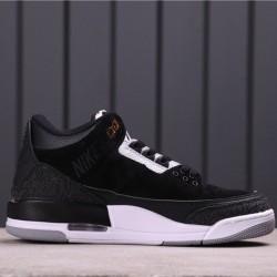 "Air Jordan 3 ""Tinker Black Cement"" CK4348-007 Black White"