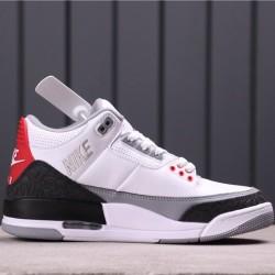 "Air Jordan 3 ""Tinker Hatfield"" AQ3835-160 White Black"