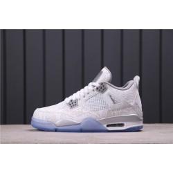 """Air Jordan 4 """"Laser"""" 705333-105 White"""