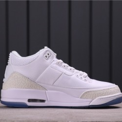 "Air Jordan 4 ""Pure Money"" 136064-111 White Grey"