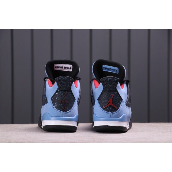 Travis Scott x Air Jordan 4 308497-406 Blue Black