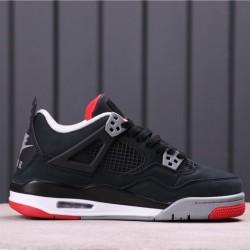 """Air Jordan 4 """"Bred"""" 308497-060 Black Red"""