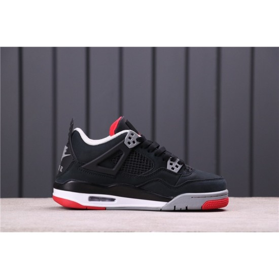 "Air Jordan 4 ""Bred"" 308497-060 Black Red"
