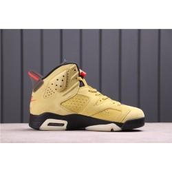 Travis Scott x Air Jordan 6 N1084-300 Yellow
